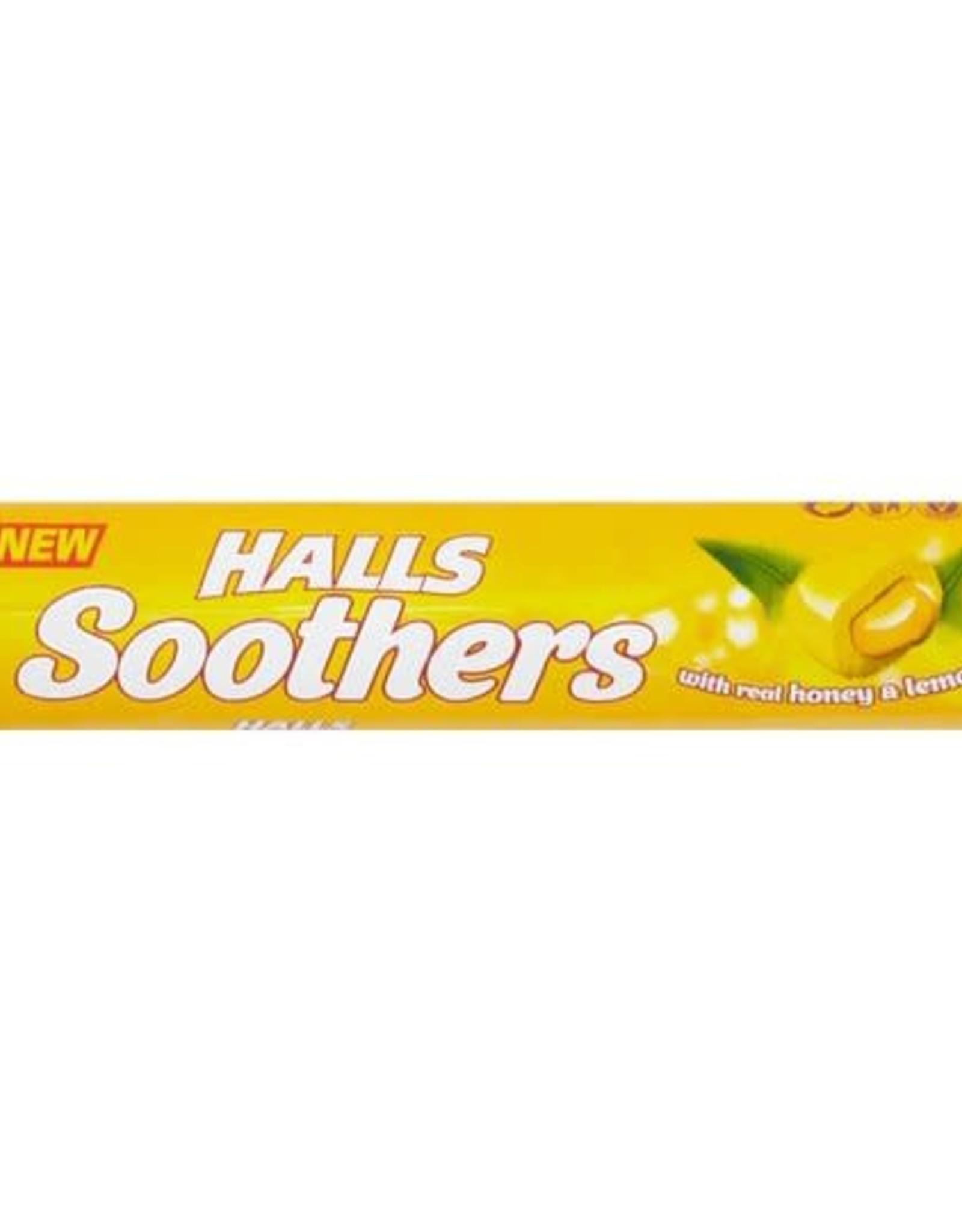 Halls Halls Soothers Honey & Lemon Juice