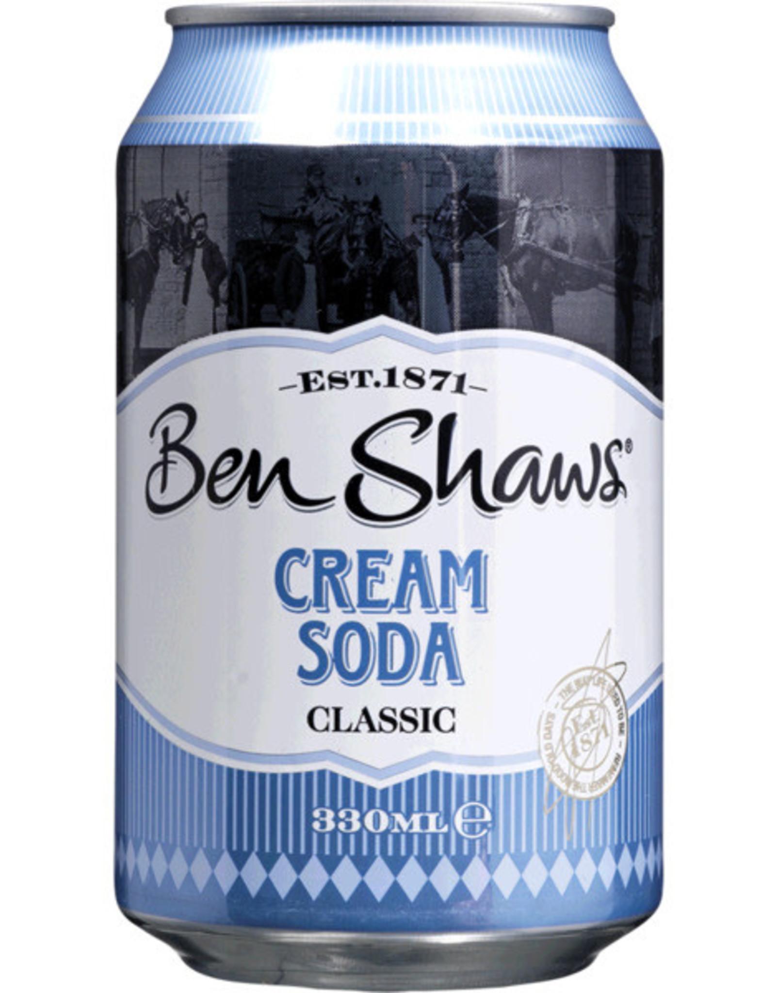 Ben Shaws' Ben Shaws' Cream Soda 33 cl