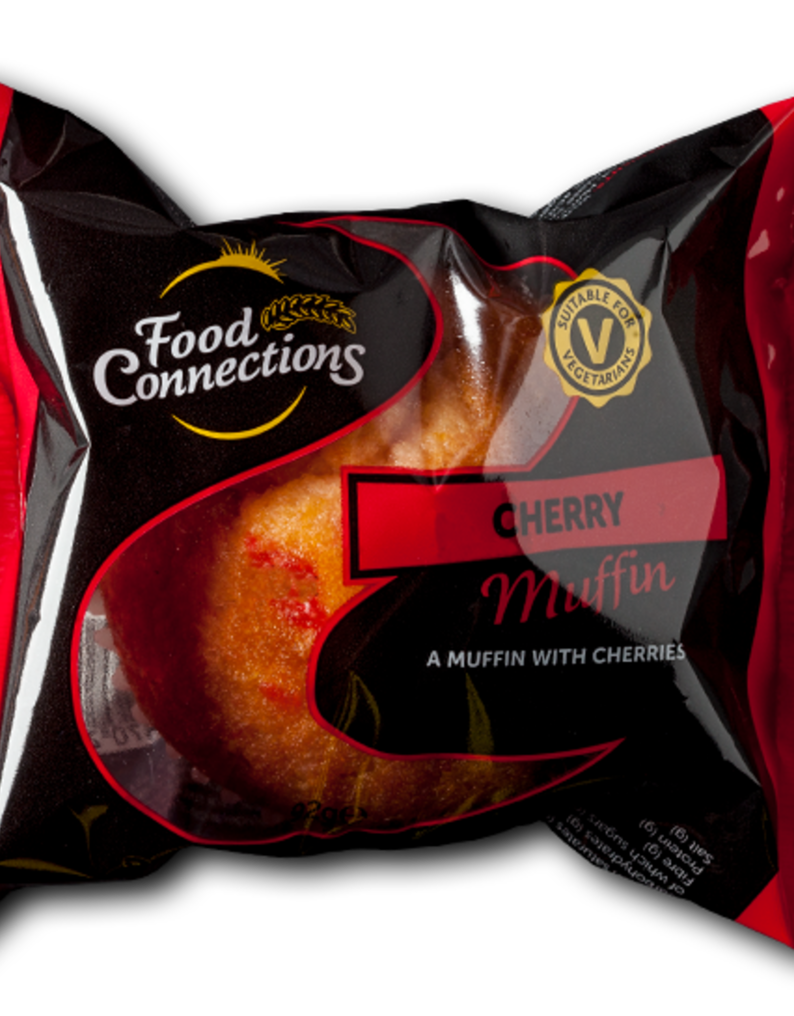Food Connections Cherry Muffin