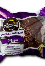 Food Connections Double Chocolate flavour Muffin