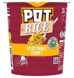 Pot Noodle Pot Rice Vegetable Curry