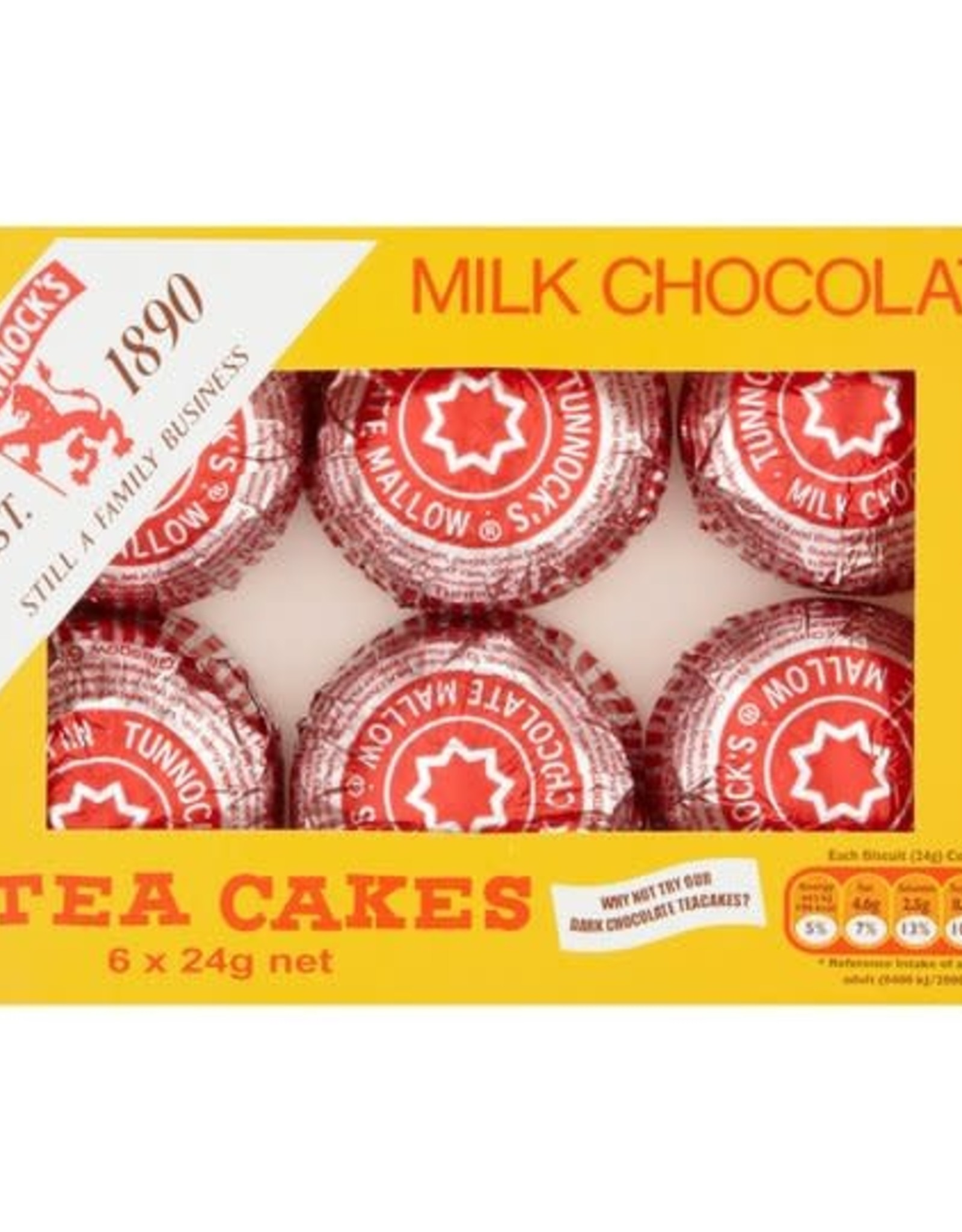 Tunnock's Tunnock's Milk Chocolate Tea Cakes