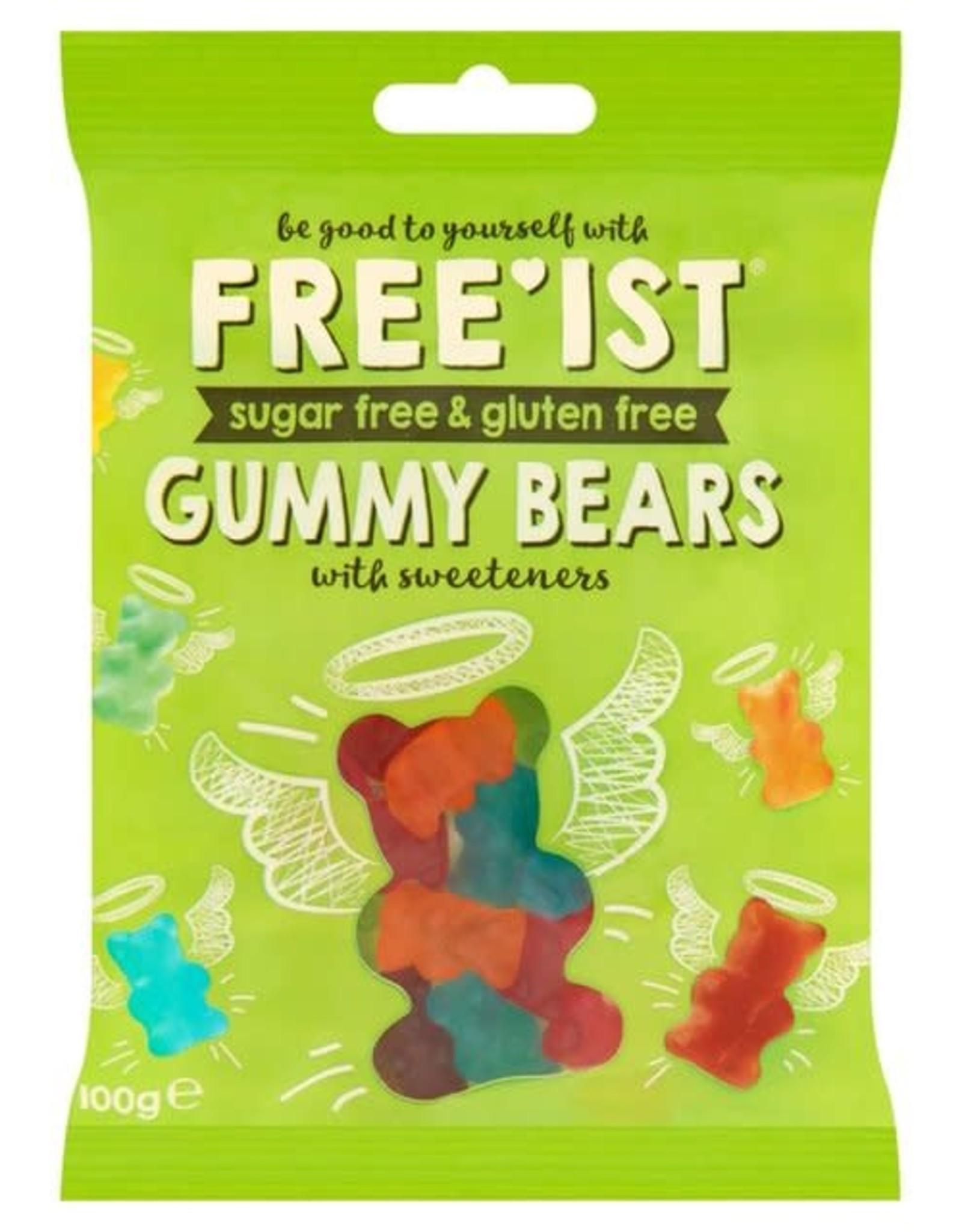 Free Ist Free Ist Sugar Free & Gluten Free Gummy Bears 100g
