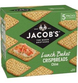 Jacob's Jacob's Lunch Bakes Crispbreads Chive 190g