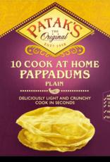 Patak's Patak's 10 Cook at Home Plain Pappadums