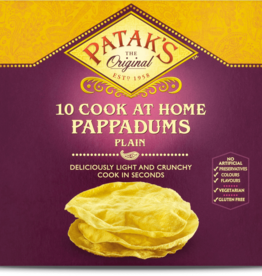 Patak's Patak's 10 Cook at Home Plain Pappadums