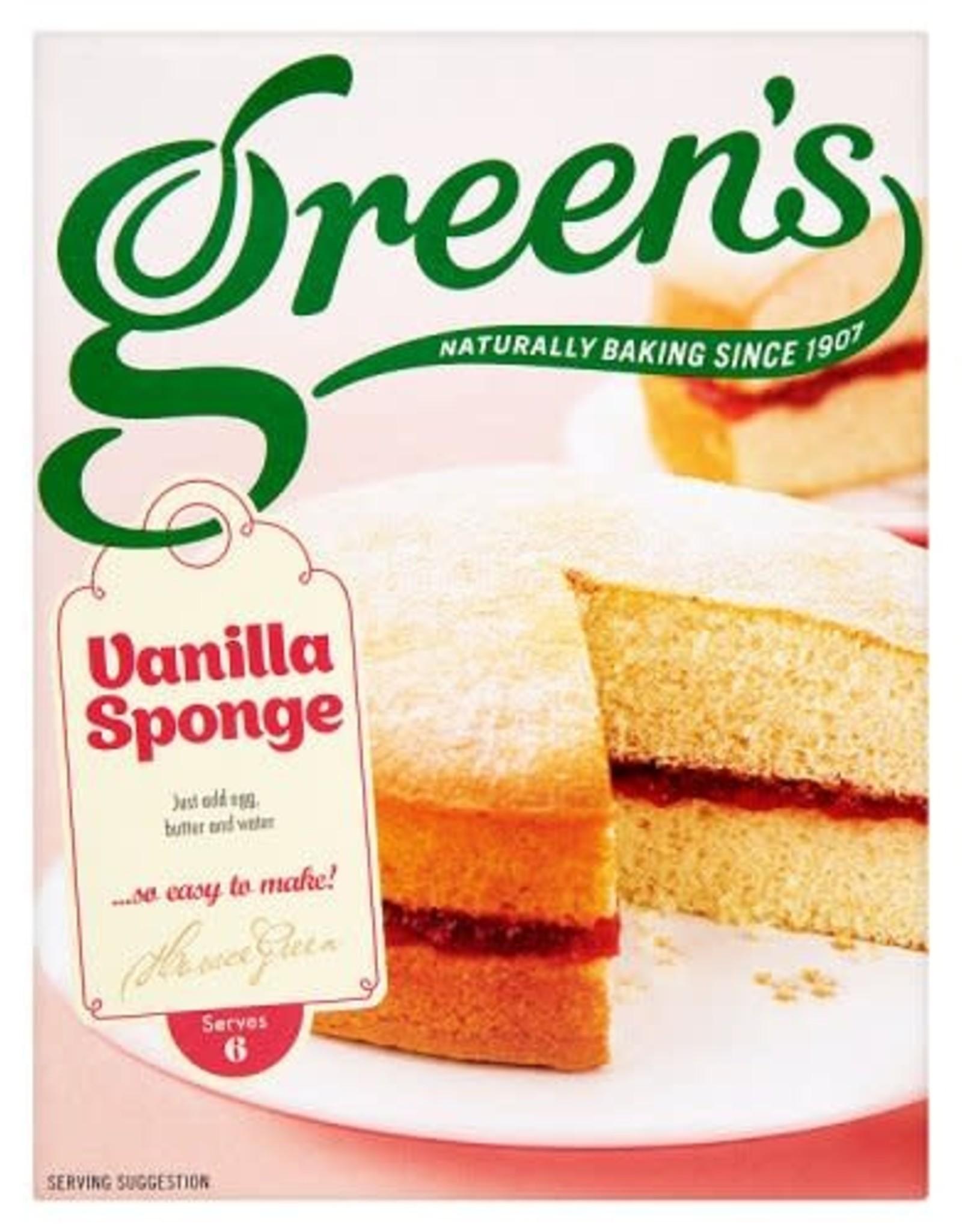 Green's Green's Vanilla Sponge Mix