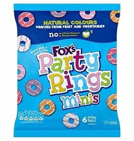 Fox Fox's Party Rings Minis 6 x 21 g