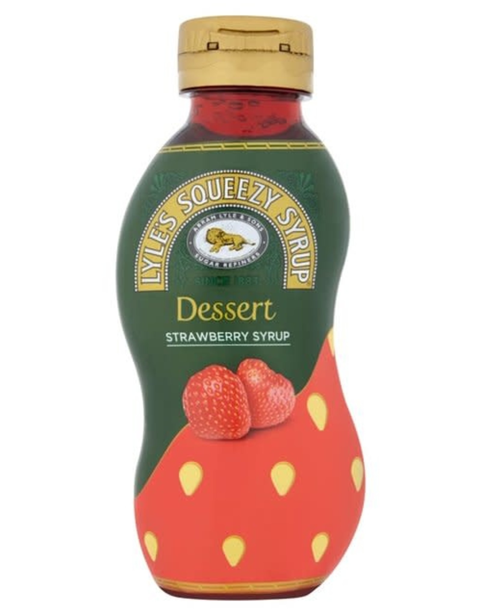Lyle's Lyle's Strawberry Syrup Squeezy 325 g