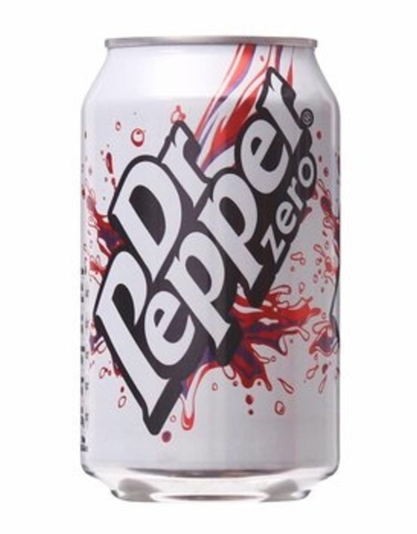 Coca Cola Dr Pepper Zero 33 cl