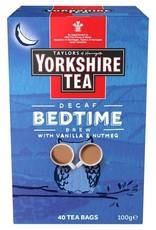Yorkshire Yorkshire Tea Decaf Bedtime Vanilla & Nutmeg 40's