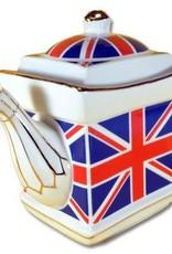 Elgate Union Jack Square Tea Pot