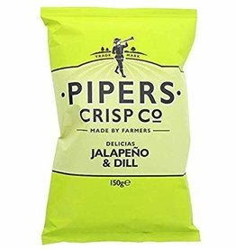 Pipers Pipers Jalapeno & Dill Crisps 40g