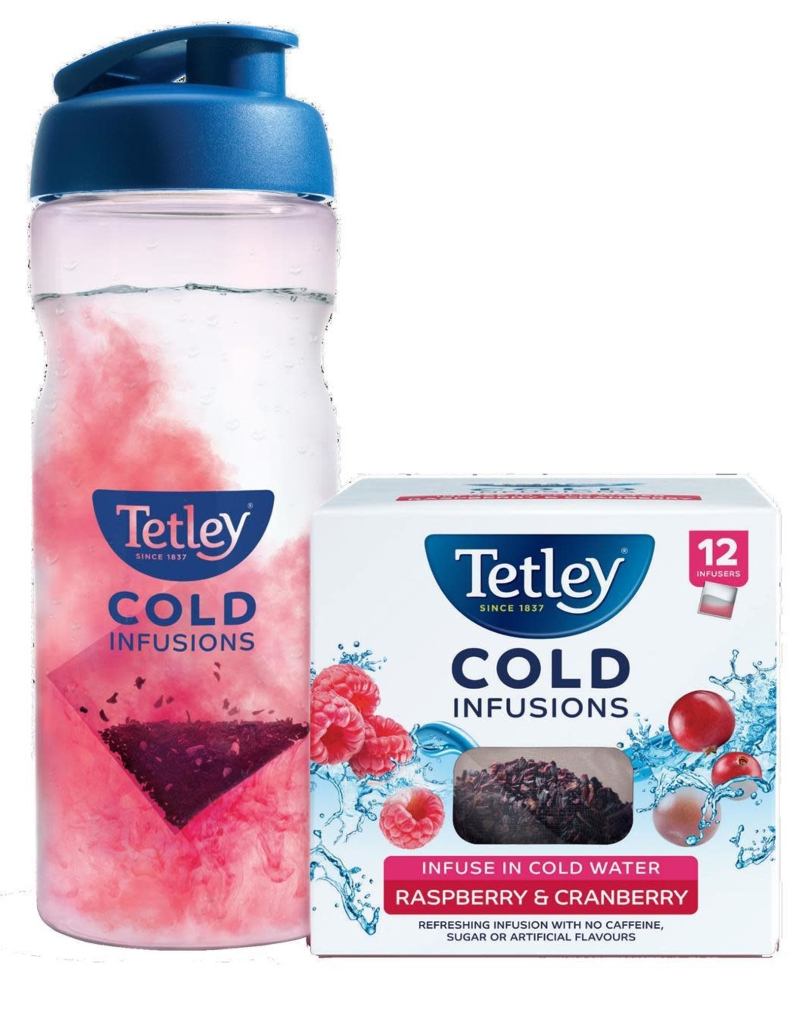 Tetley Tetley Cold Infusion Starter Pack Raspberry & Cranberry