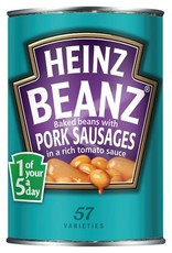 Heinz Heinz Beanz with pork sausages 415 g
