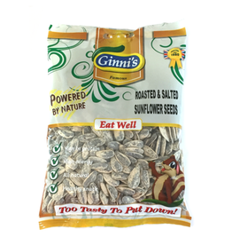 Ginni's Roasted & Salted Sunflower Seeds 120g