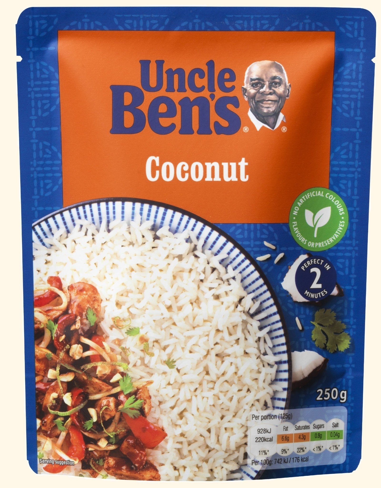 Uncle Bens Uncle Bens Coconut 250g