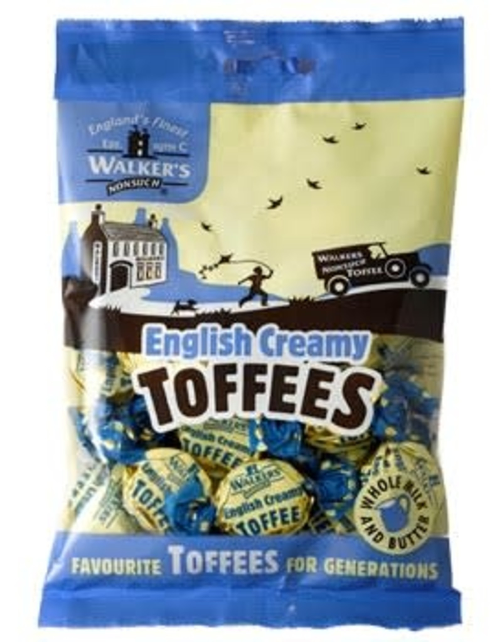 Walker's Walker's English Creamy Toffees 150g