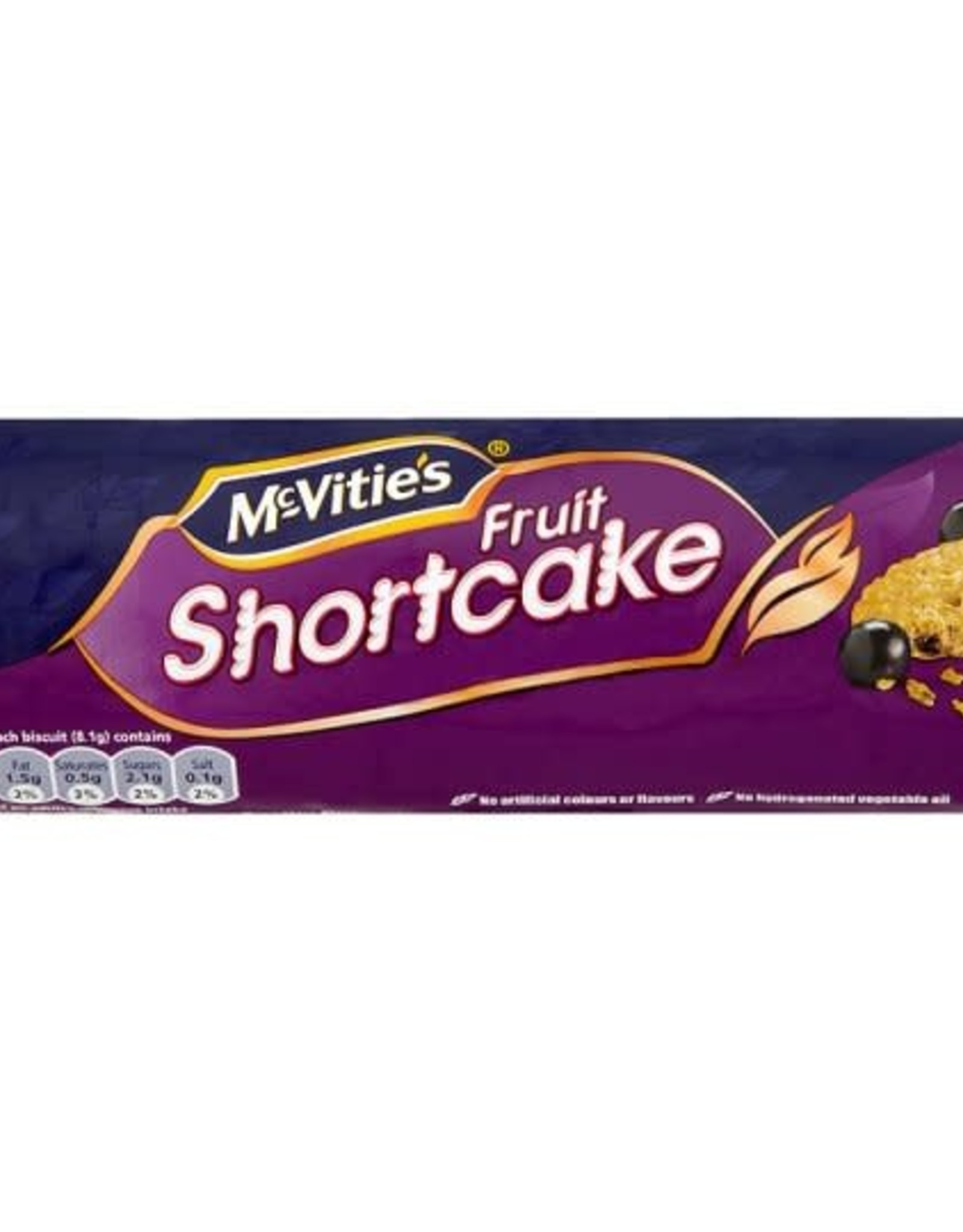 McVitie's McVitie's Fruit Shortcake 200g