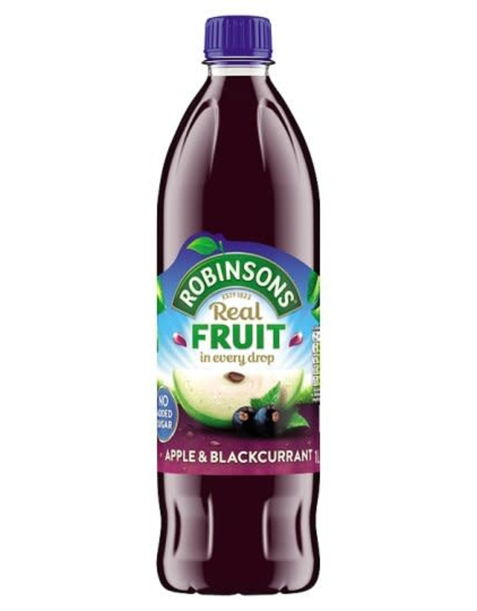 Robinson's Robinsons Real Fruit 1 L Apple & Blackcurrant