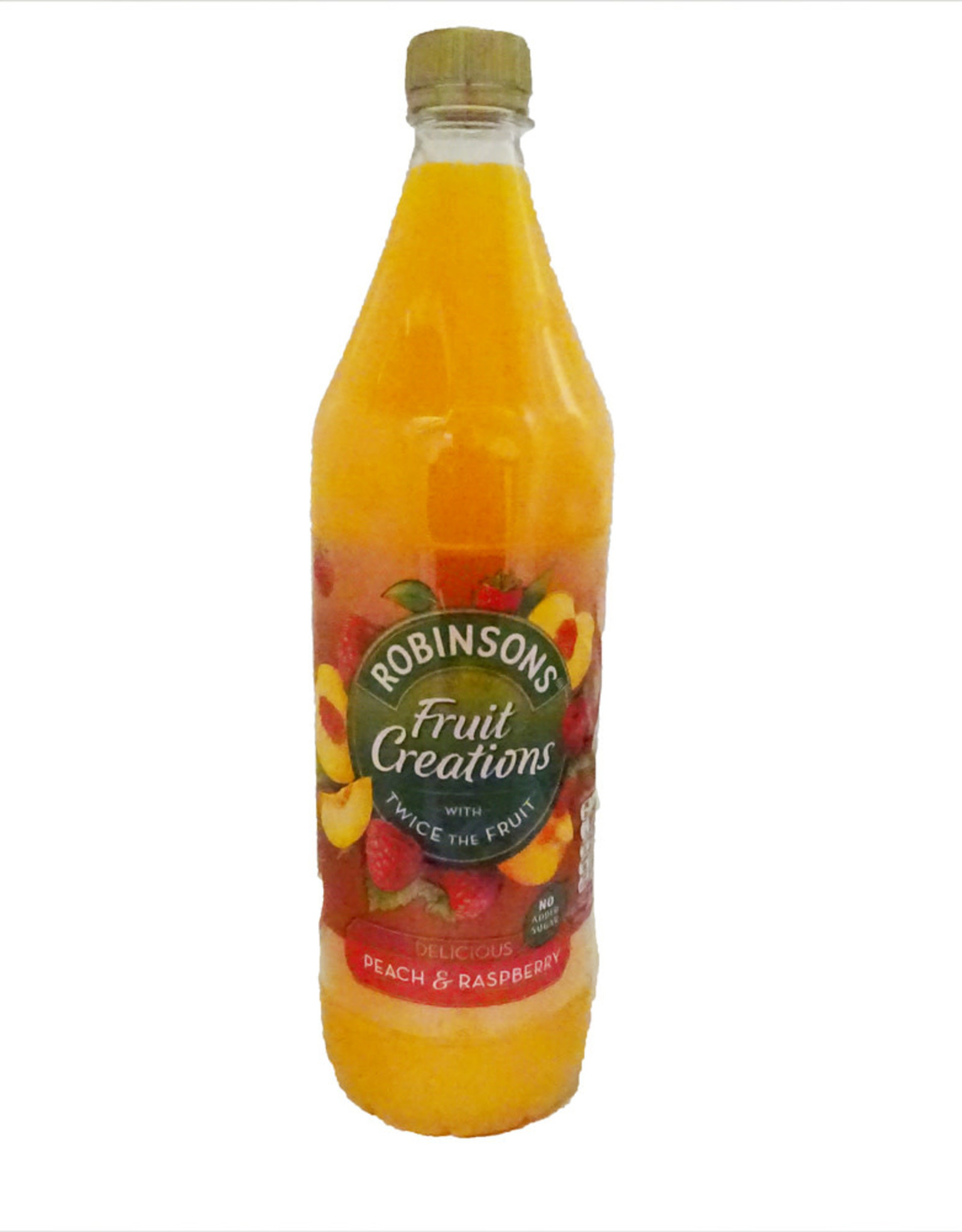Robinson's Robinsons Fruit Creations Peach & Raspberry 1L