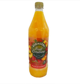 Robinson's Robinsons Fruit Creations Peach & Raspberry 1L