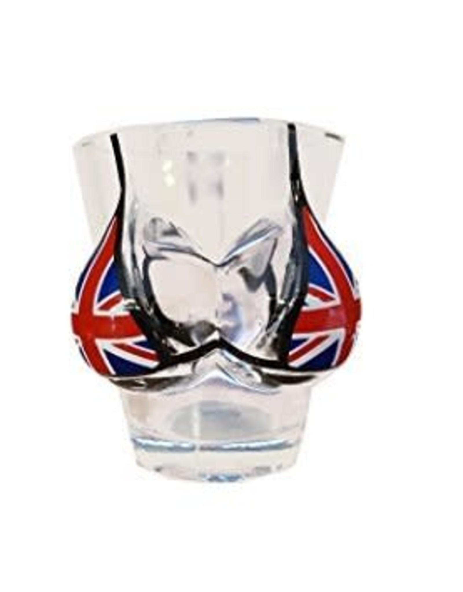 Elgate Union Jack Boobies Shotglass