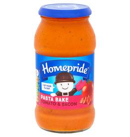 Homepride Homepride Pasta bake Tomato & Bacon 485g