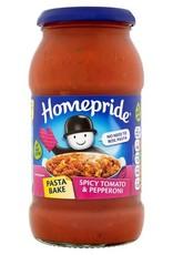 Homepride Homepride Pasta bake Spicy Tomato & Pepperoni 485g