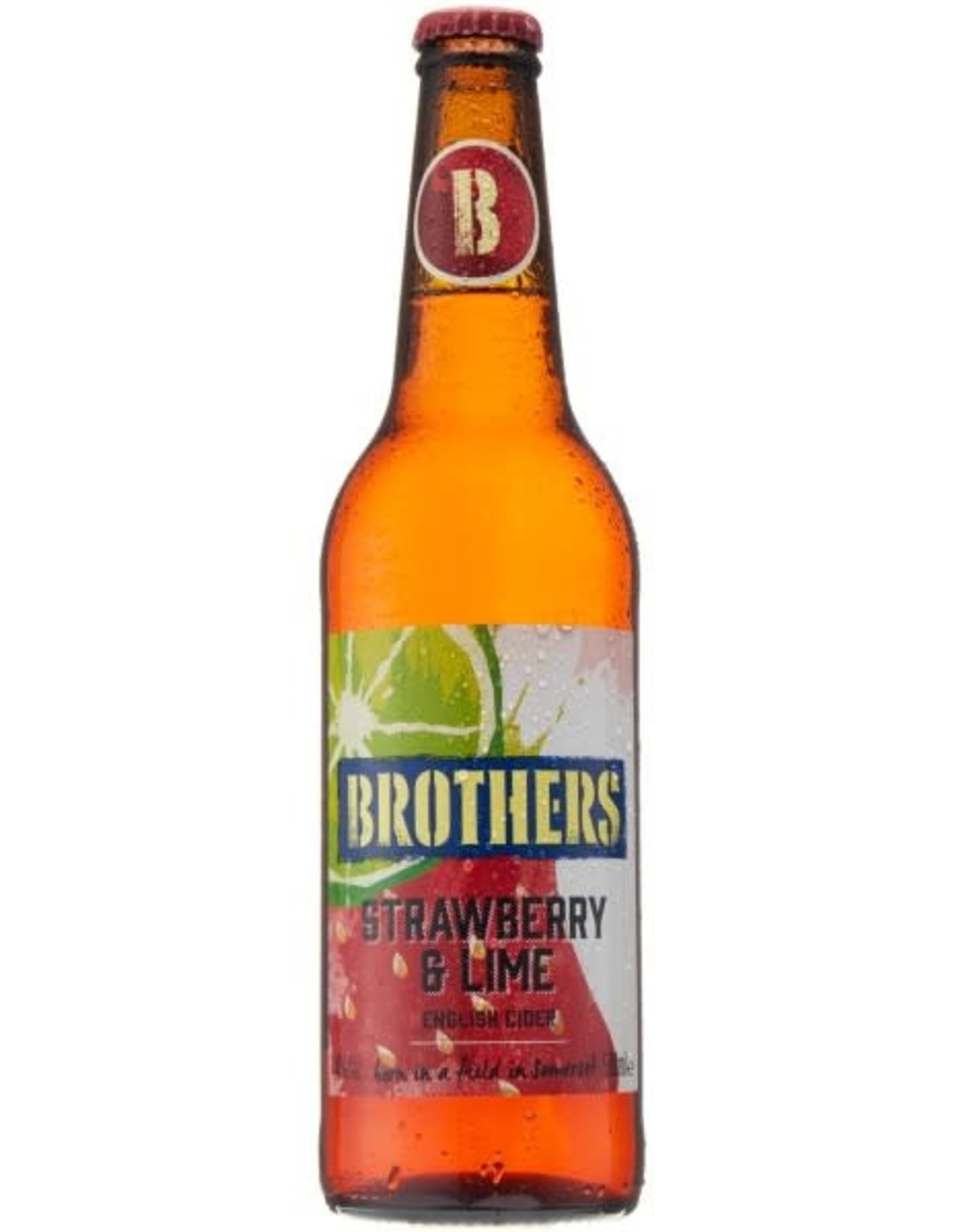 Brothers Brothers Strawberry & Lime 50 cl