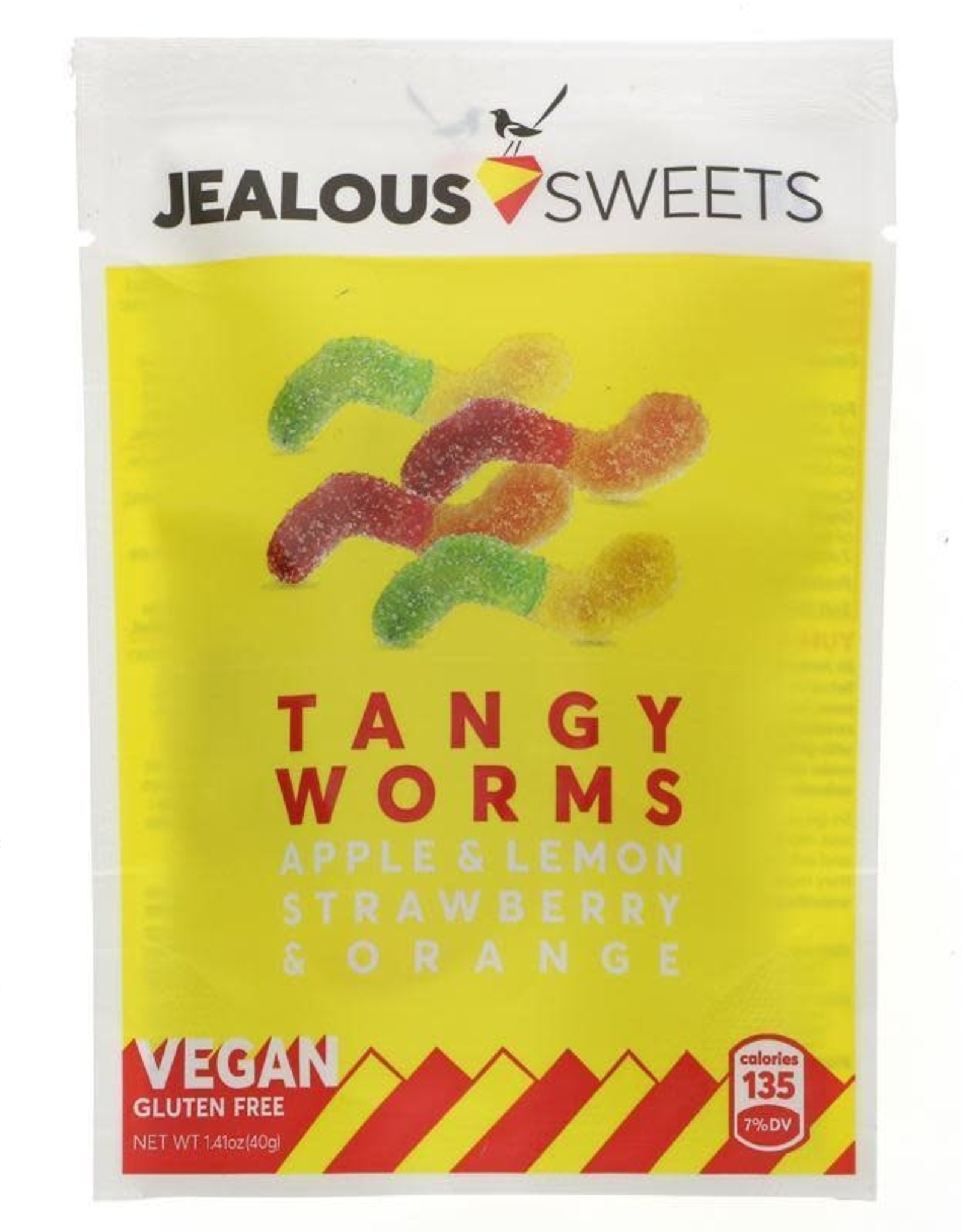 Jealous Sweets Jealous Sweets Tangy Worms 125g