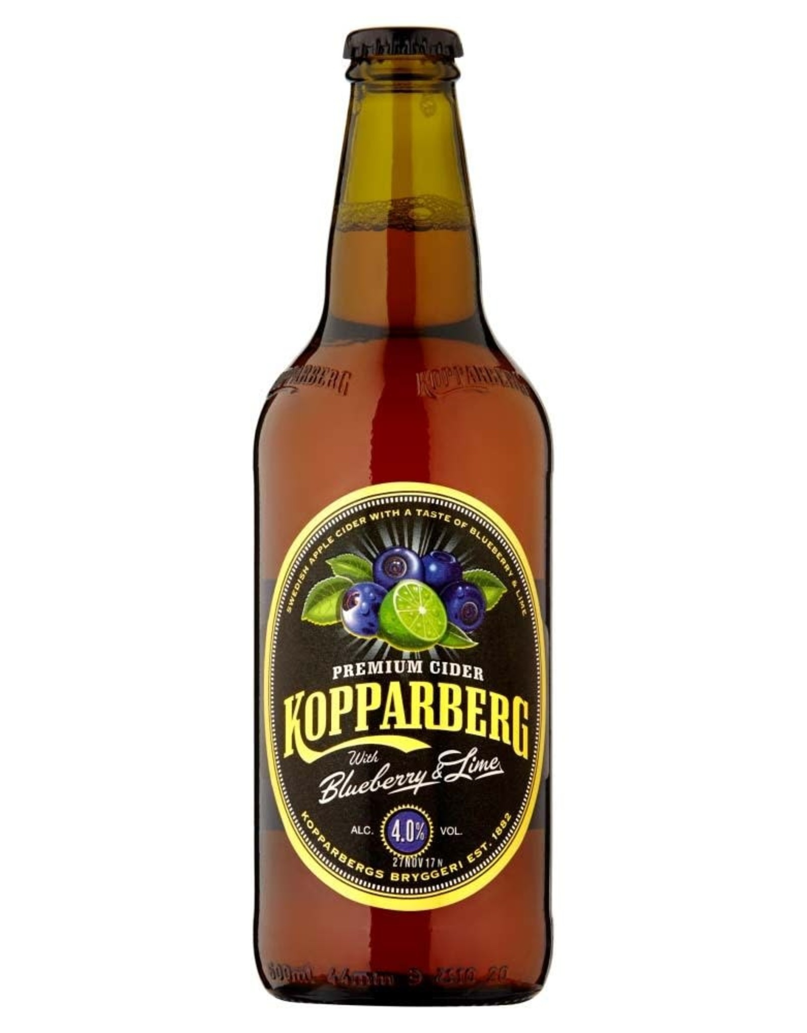 Kopparberg Kopparberg Blueberry & Lime 50 cl