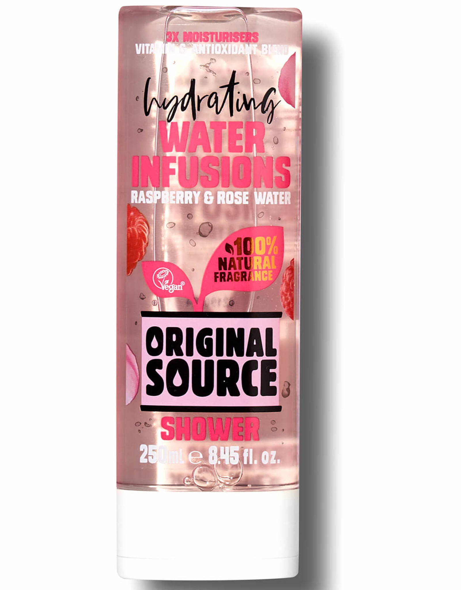Original Source Hydrating Water Infusions Raspberyy & Rose water