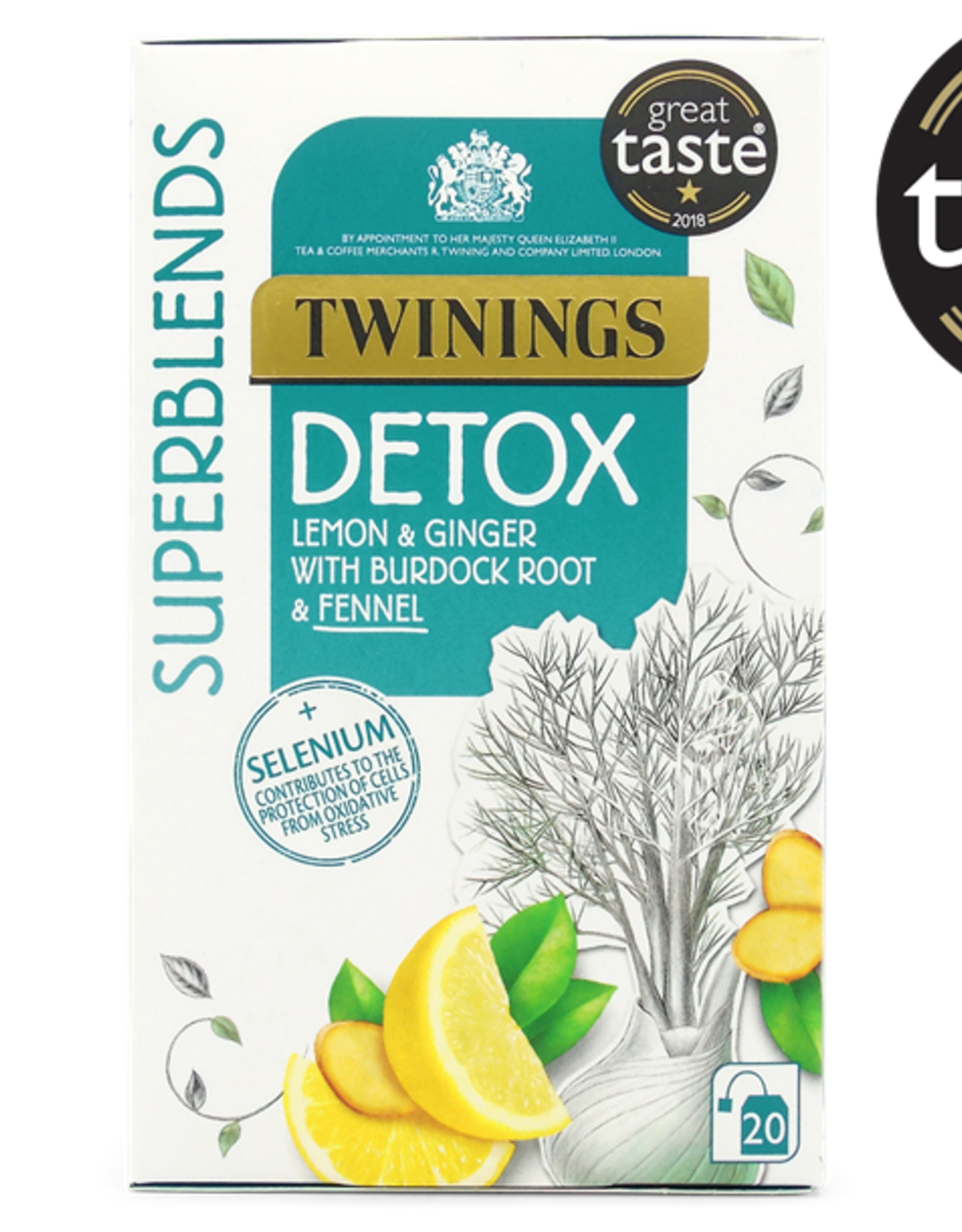 Twinings Twinings Detox Lemon & Ginger