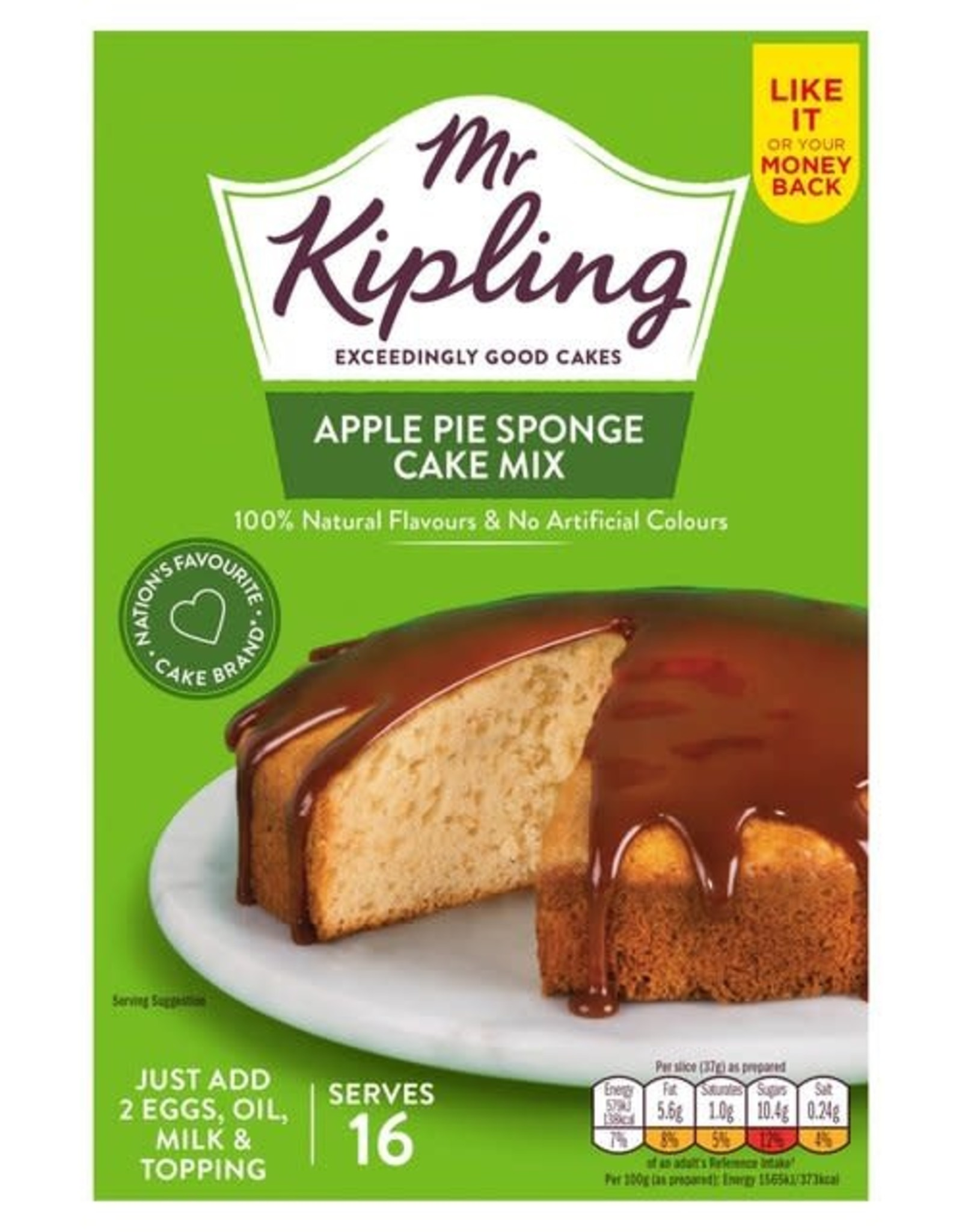 Mr Kipling Mr Kipling Apple Pie Sponge Cake Mix