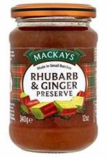 Mackays Mackay's Rhubarb & Ginger Preserve