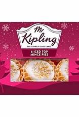 Mr Kipling Mr Kipling 6 Iced Top  Mince Pies