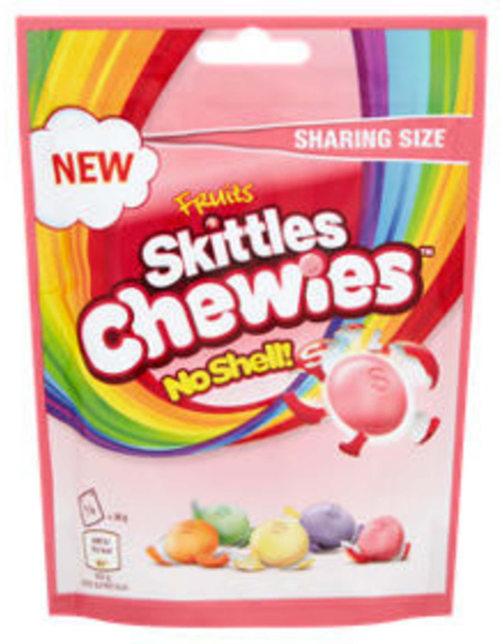 Skittles Copy of Skittles Chewies No Shell 152g