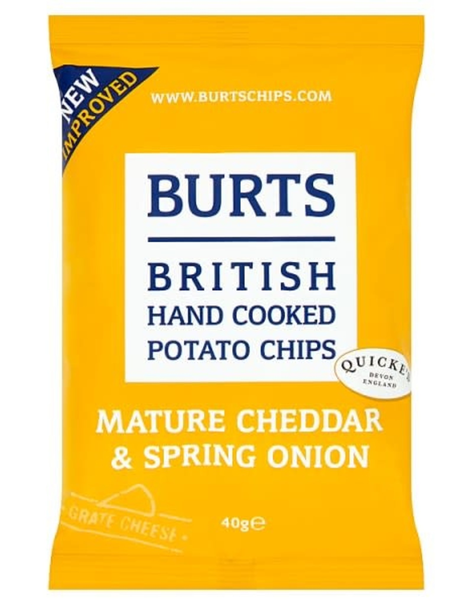 Burts Burts Matture Cheddar & Spring Onion 40 g