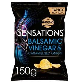 Walker's Sensations Balsamic Vinegar & Caramelised Onion 150 g