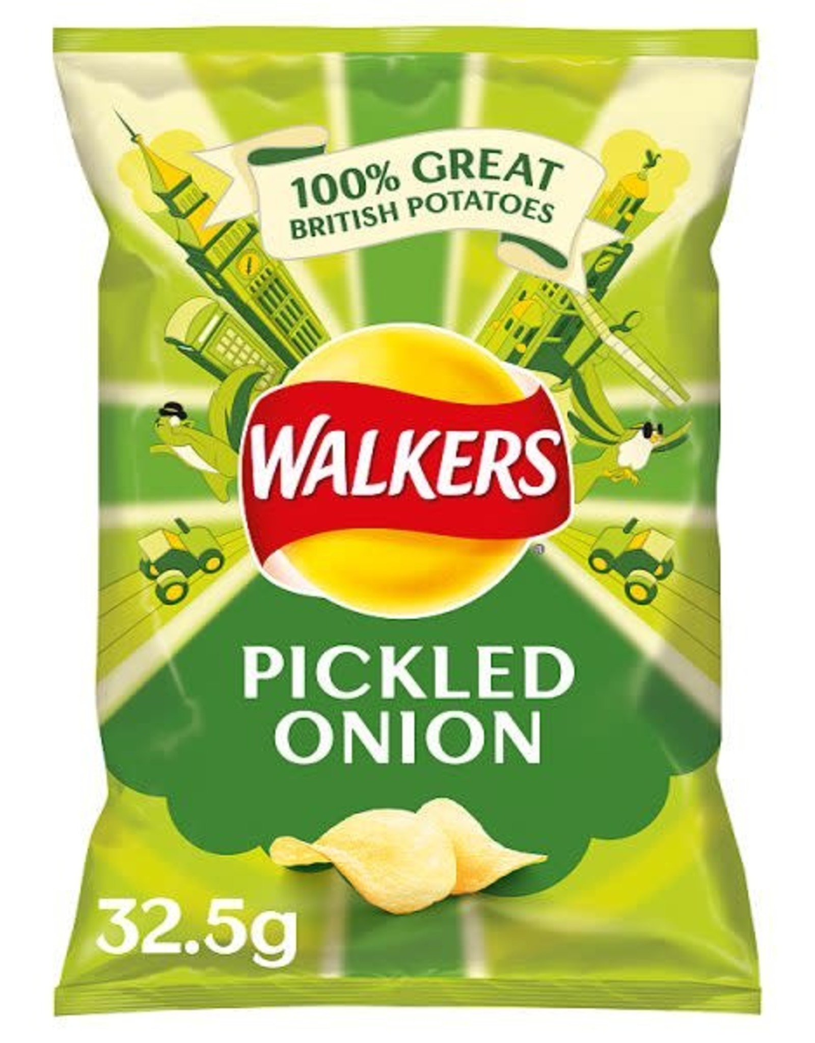 Walkers Walkers Pickled Onion 32,5 g