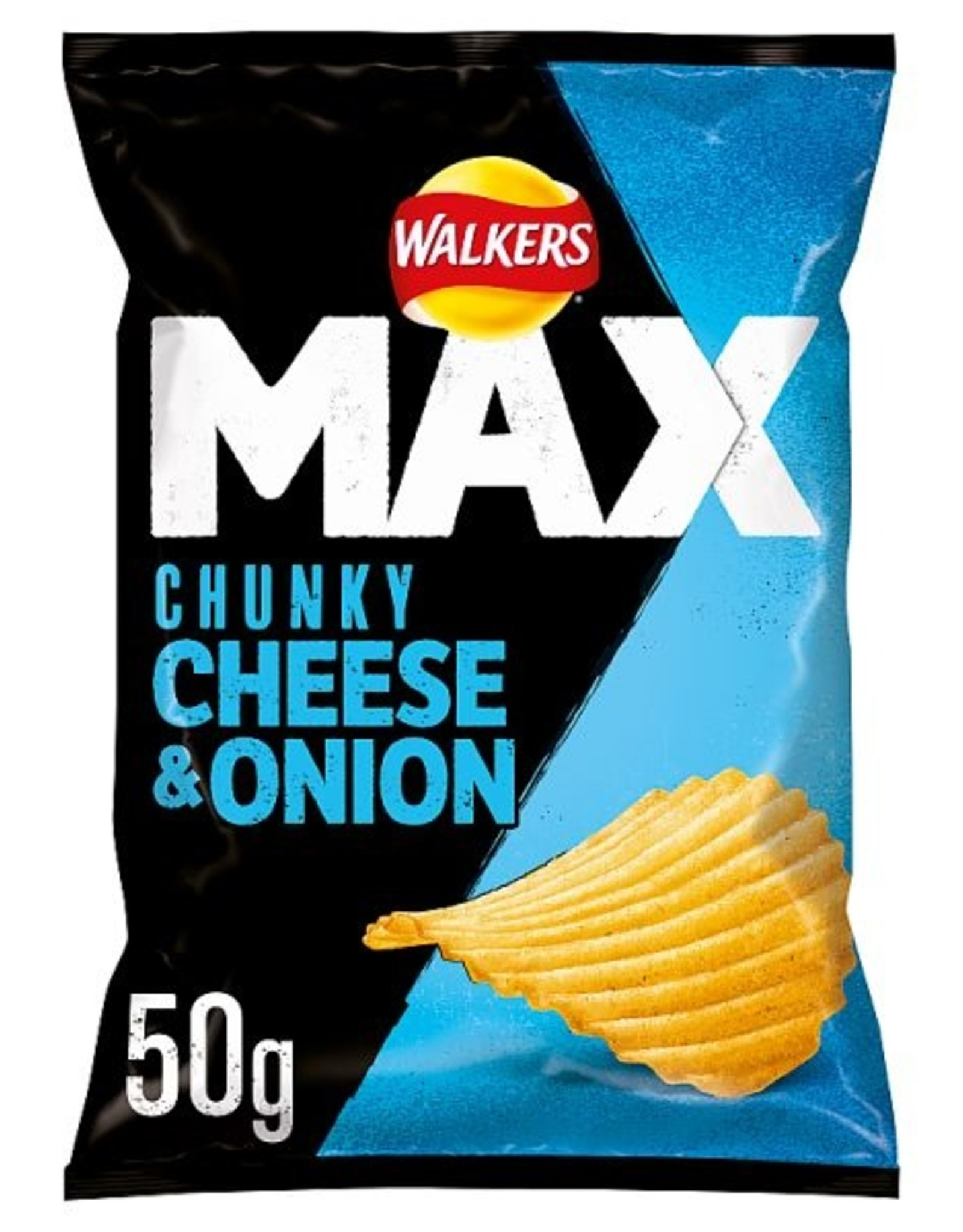 Walkers Walkers Max Chunky Cheese & Onion