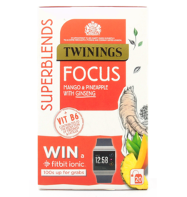 Twinings Twinings Focus Mango & Pineapple with Ginseng 20's
