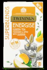 Twinings Twinings Energise Green Tea Mandarin & Apple with Guarana 20's