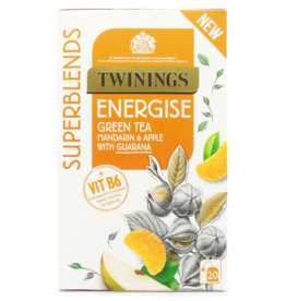 Twinings Twinings Energise Green Tea Mandarin & Apple with Guarana 20's