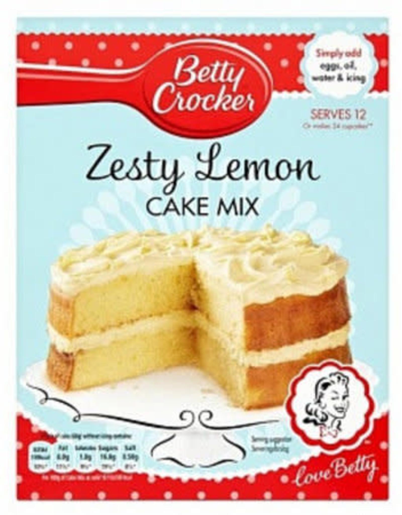 Betty Crocker Betty Crocker Zesty Lemon Cake Mix