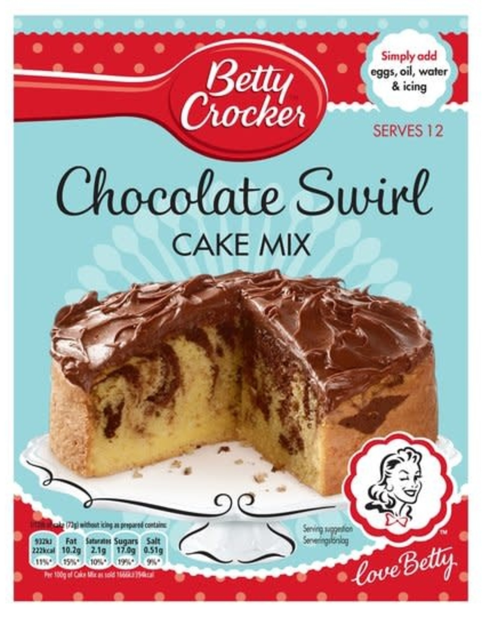 Betty Crocker Betty Crocker Chocolate Swirl Cake Mix