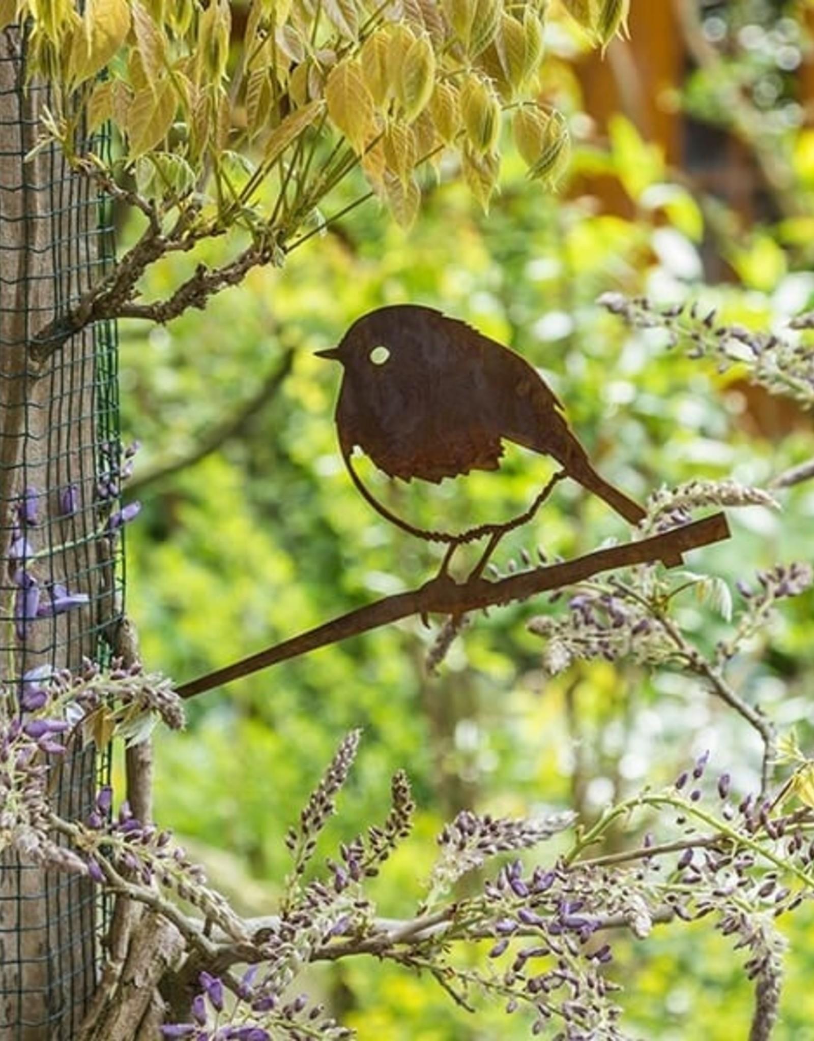Metalbird Metalbird Roodborst