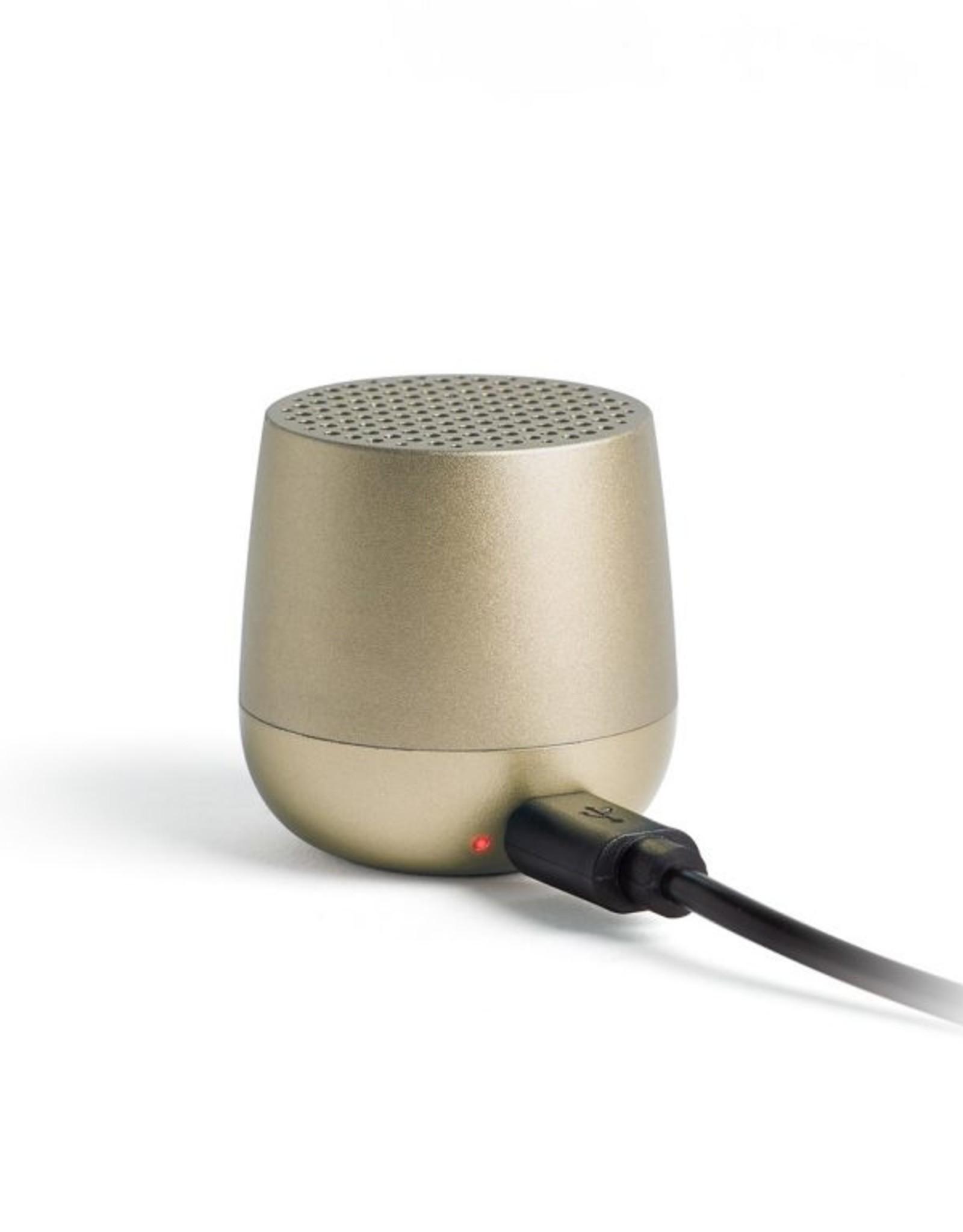 Lexon Speaker Bluetooth Mino  + Goud