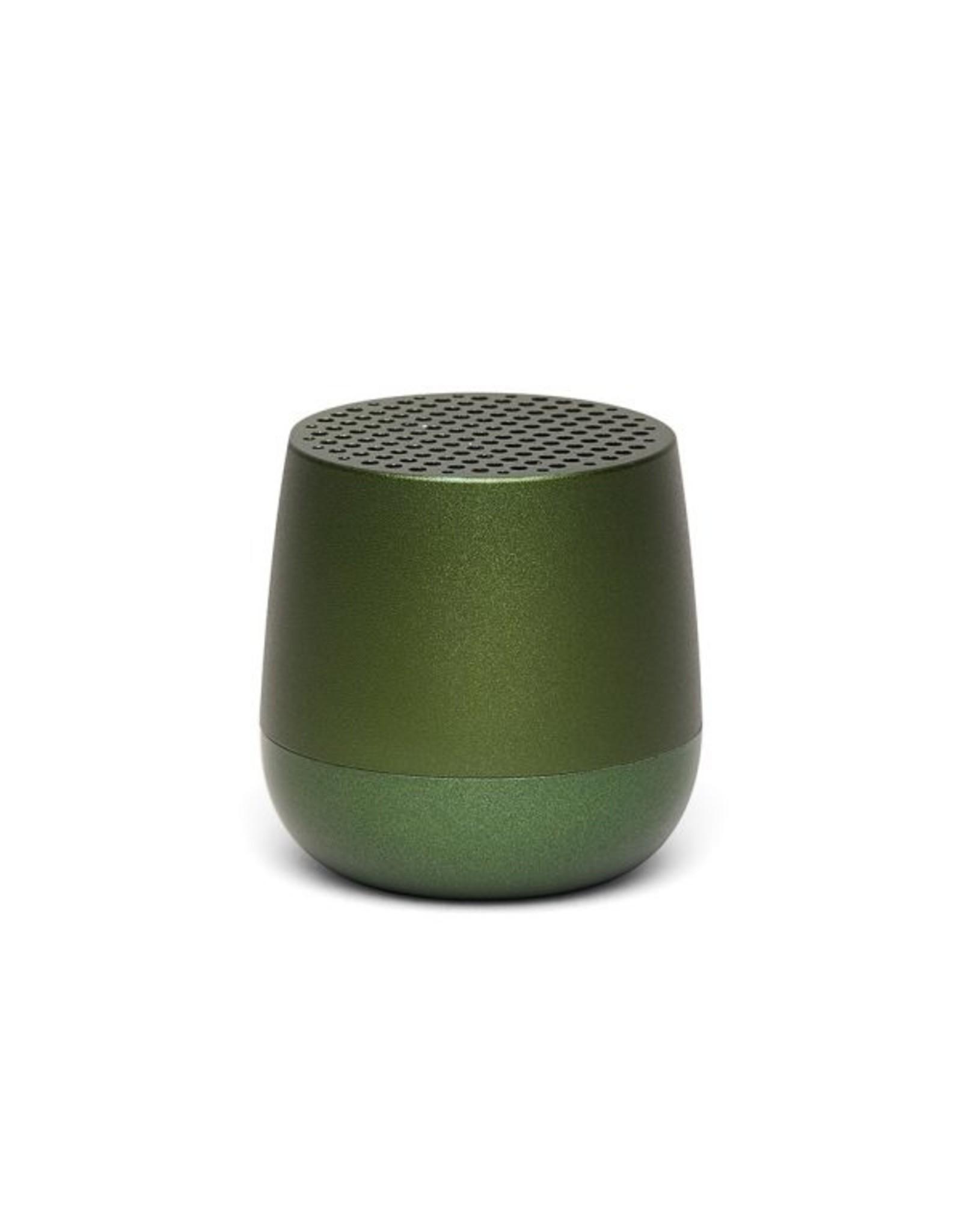Lexon Speaker Bluetooth Mino Donker Groen